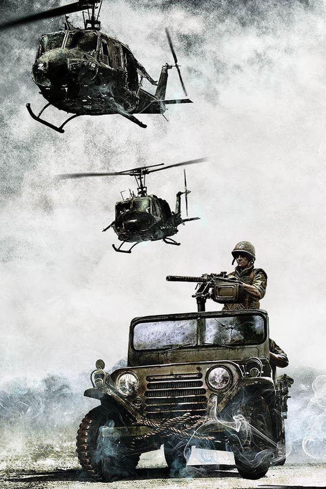 Battlefield Bad Company 2 iPhone 4s wallpaper