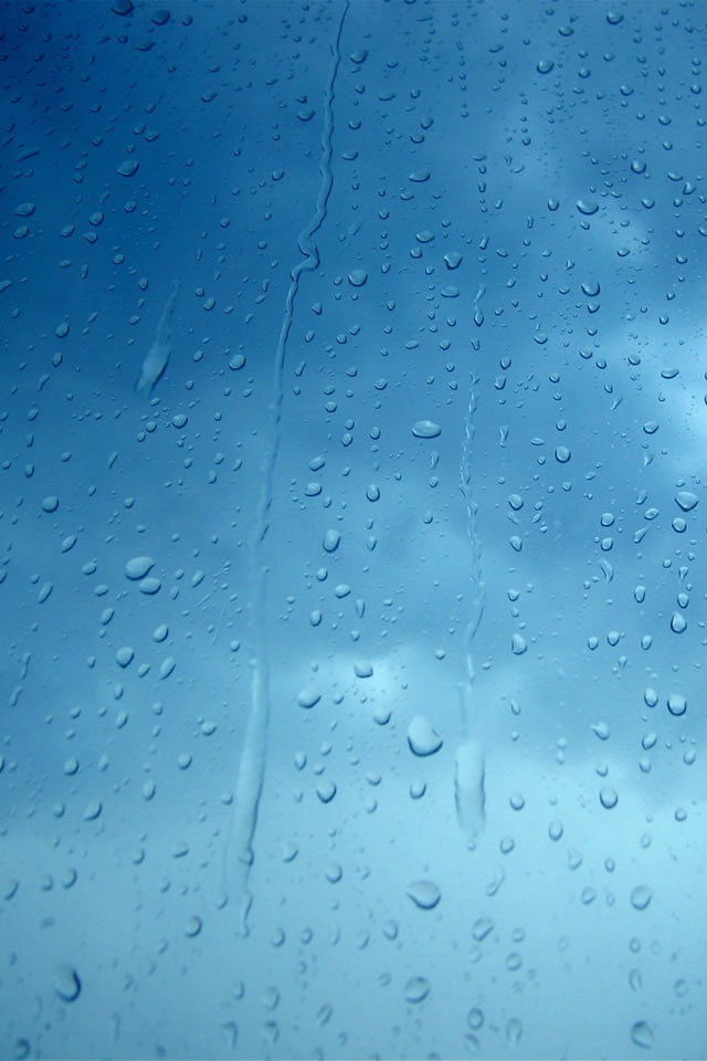 Rain Drops Iphone 4s Wallpapers Free Download