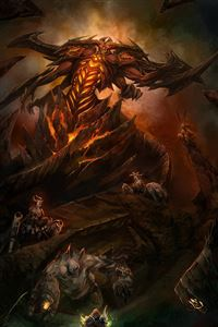 Diablo 3 iPhone 4s wallpaper