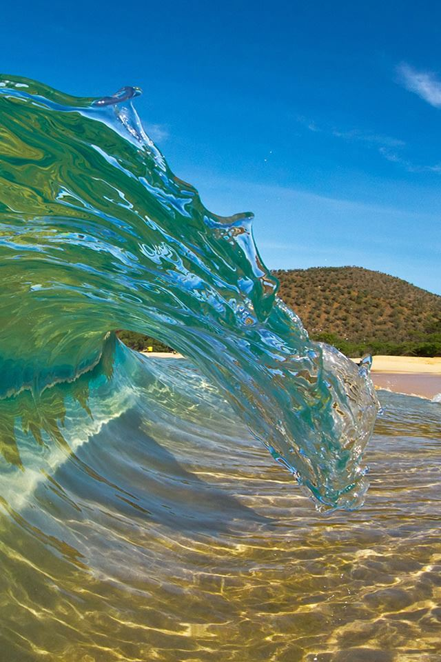 Hawaii swirl iPhone 4s wallpaper