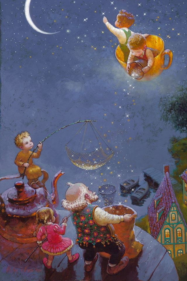 Victor Nizovtsev illustrator iPhone 4s wallpaper
