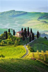 Tuscany italy iPhone 4s wallpaper