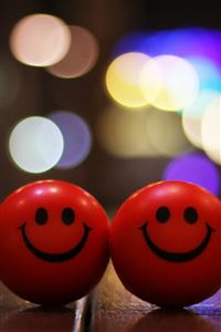 Happy Smiley iPhone 4s wallpaper
