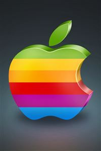 Apple 3D iPhone 4s wallpaper