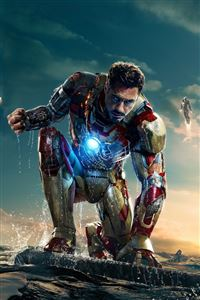 Iron Man 3 New iPhone 4s wallpaper