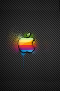 Color Apple iPhone 4s wallpaper