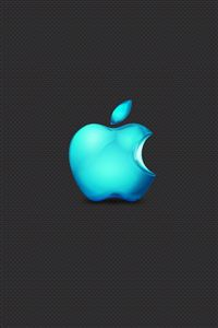 Apple Seablue Color iPhone 4s wallpaper