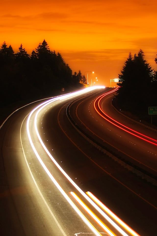Interstate Highway iPhone 4s Wallpapers Free Download