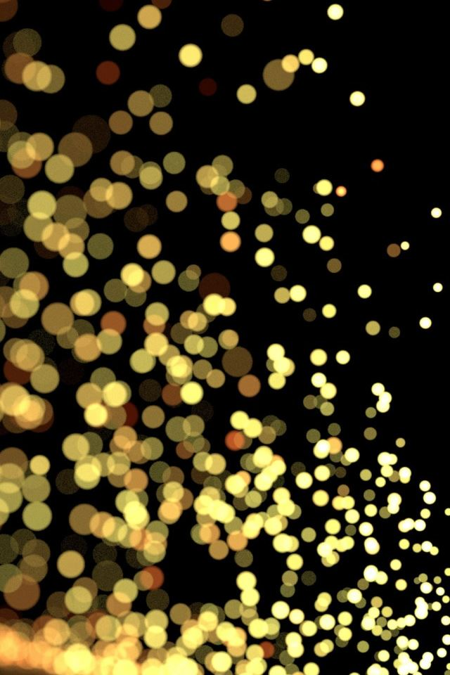 Blurry Sparks iPhone 4s wallpaper