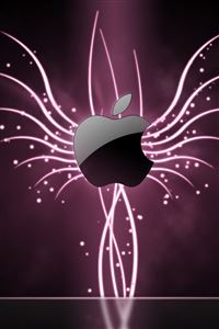 Glow From Apple iPhone 4s wallpaper
