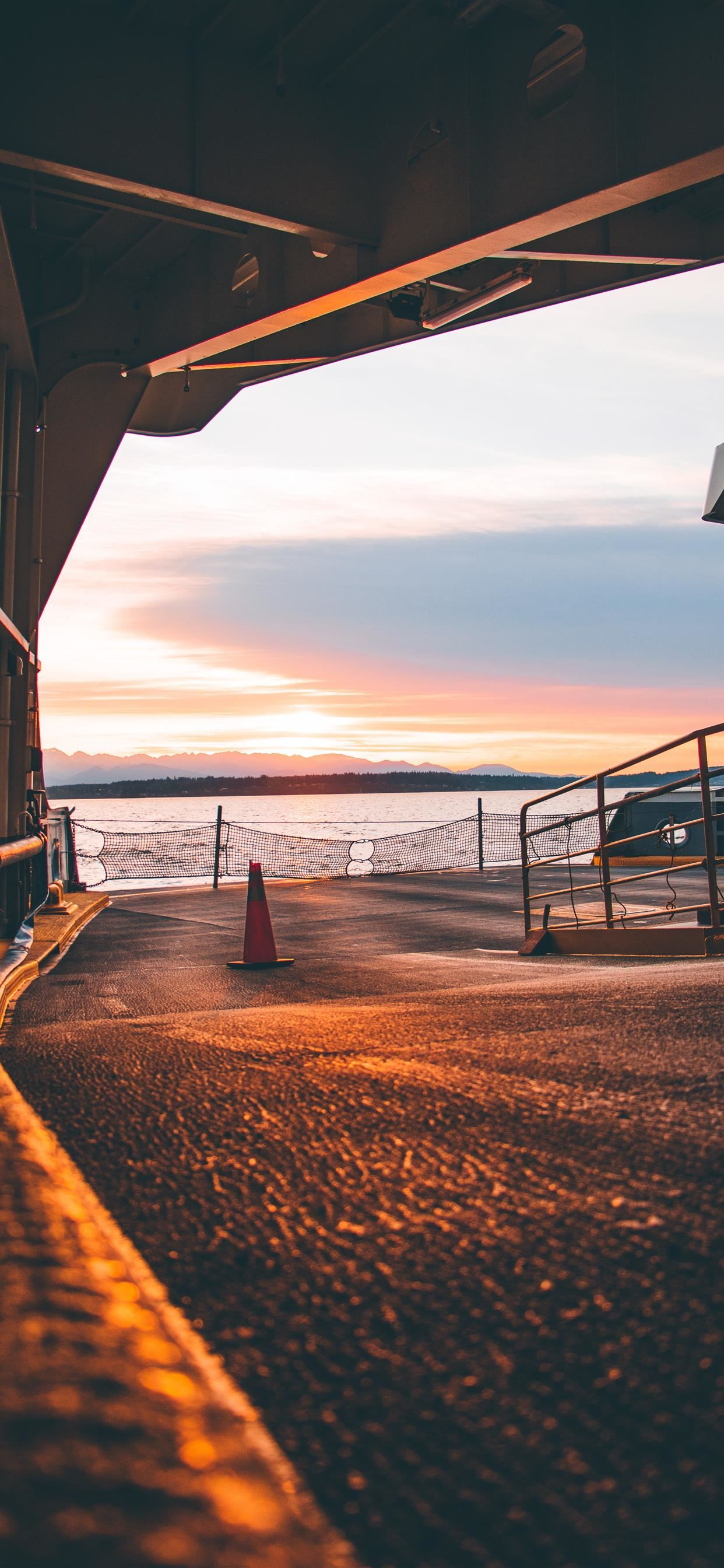 Seattle Ferry Terminal Seattle United States Iphone Wallpapers Free Download