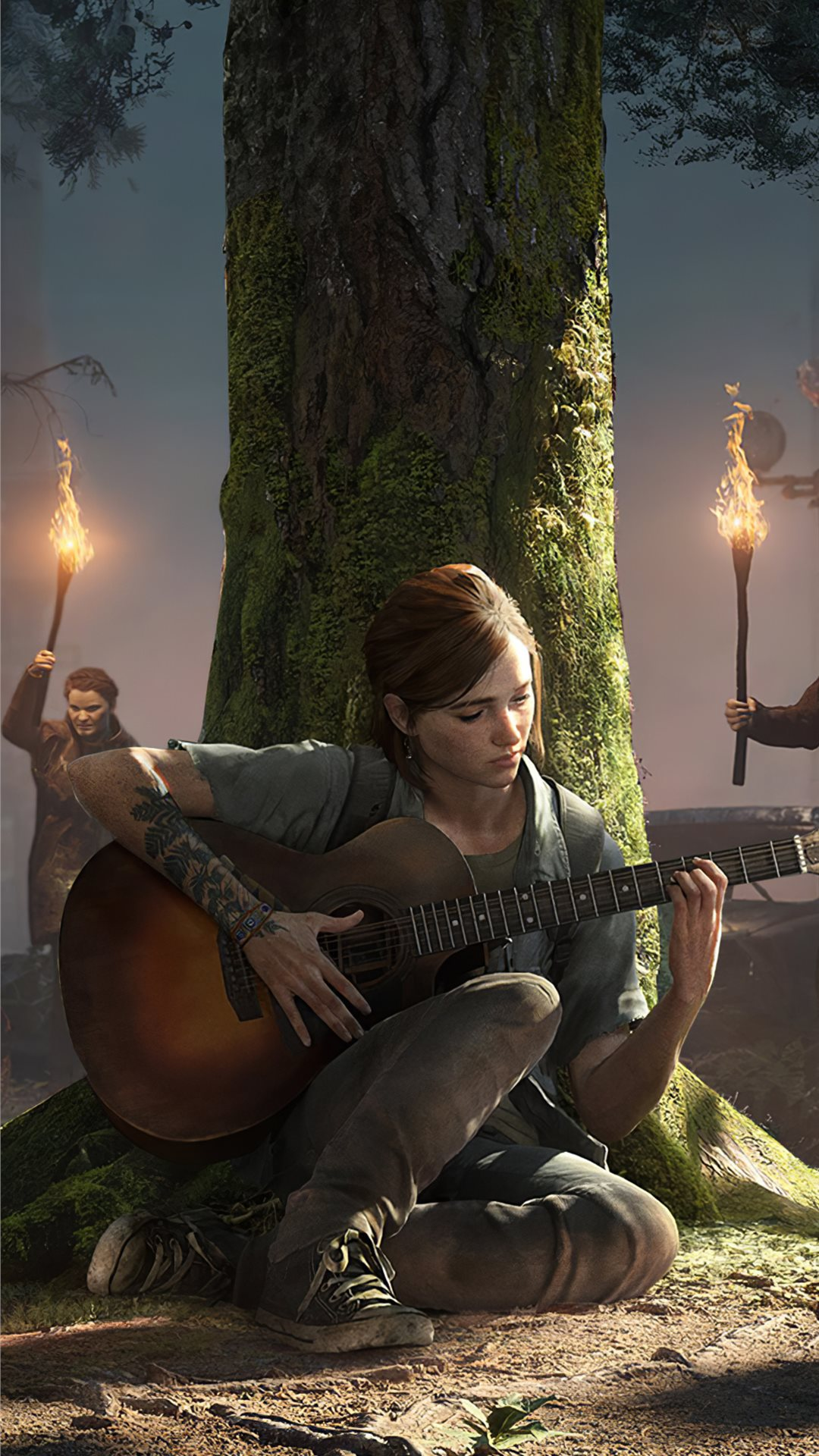 Ellie The Last Of Us 4k Iphone Wallpapers Free Download