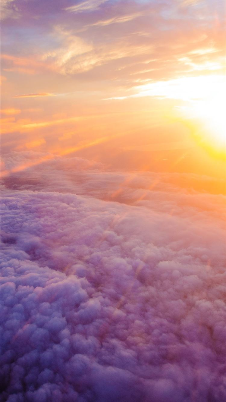 aerial photography of white clouds and ...