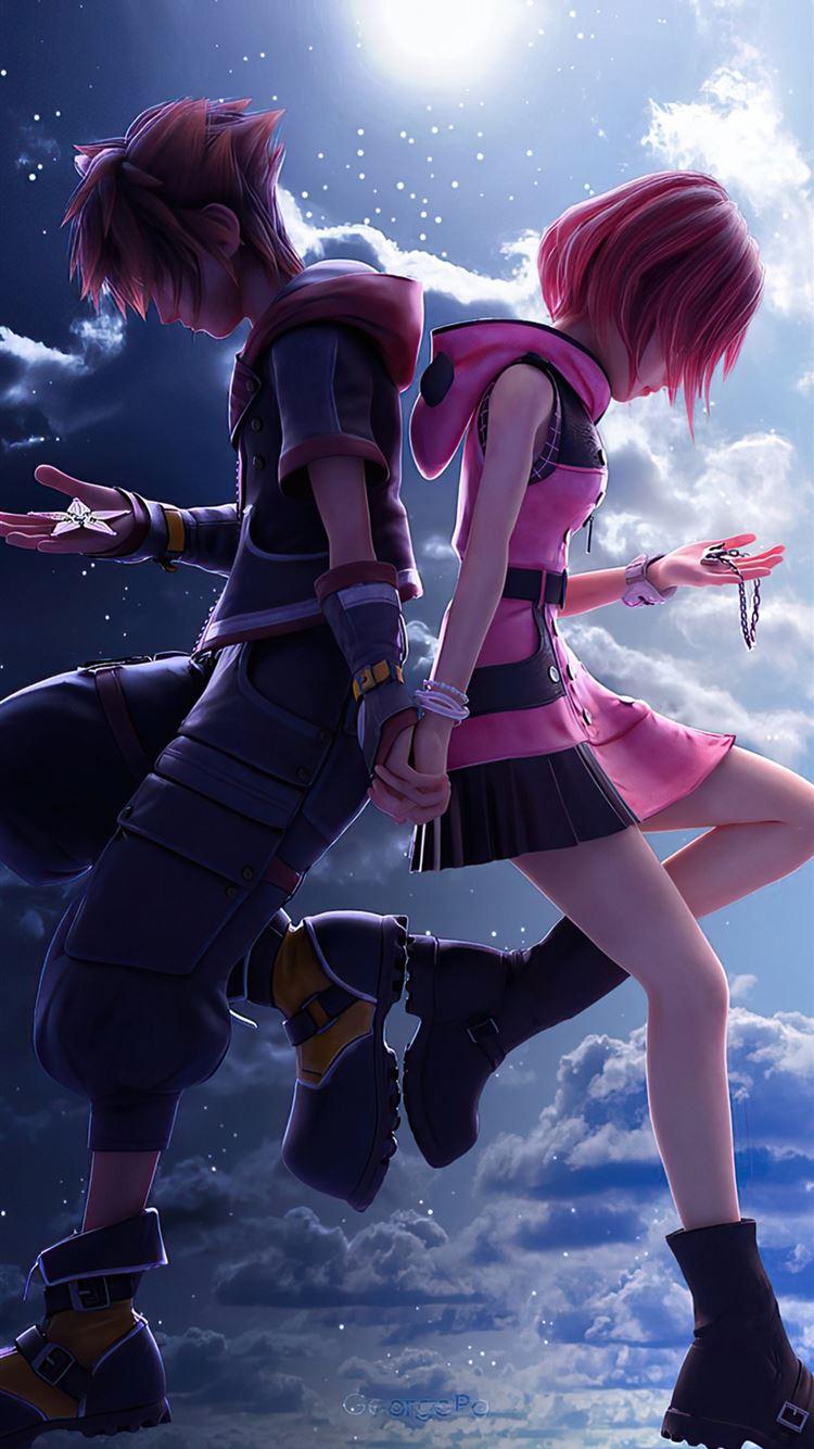 Kingdom Hearts 3 Sora And Kaira 4k Iphone 8 Wallpapers Free Download