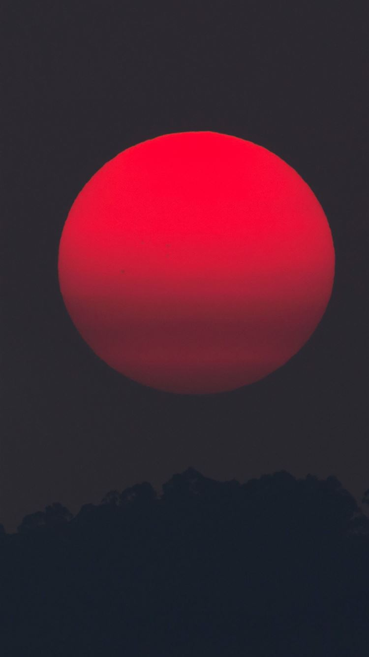 Red Moon Iphone Wallpapers Free Download