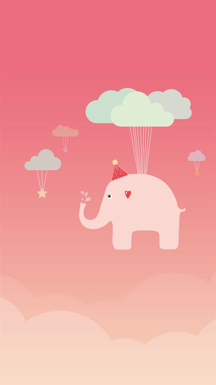 Cute Elephant Iphone 8 Wallpapers Free Download