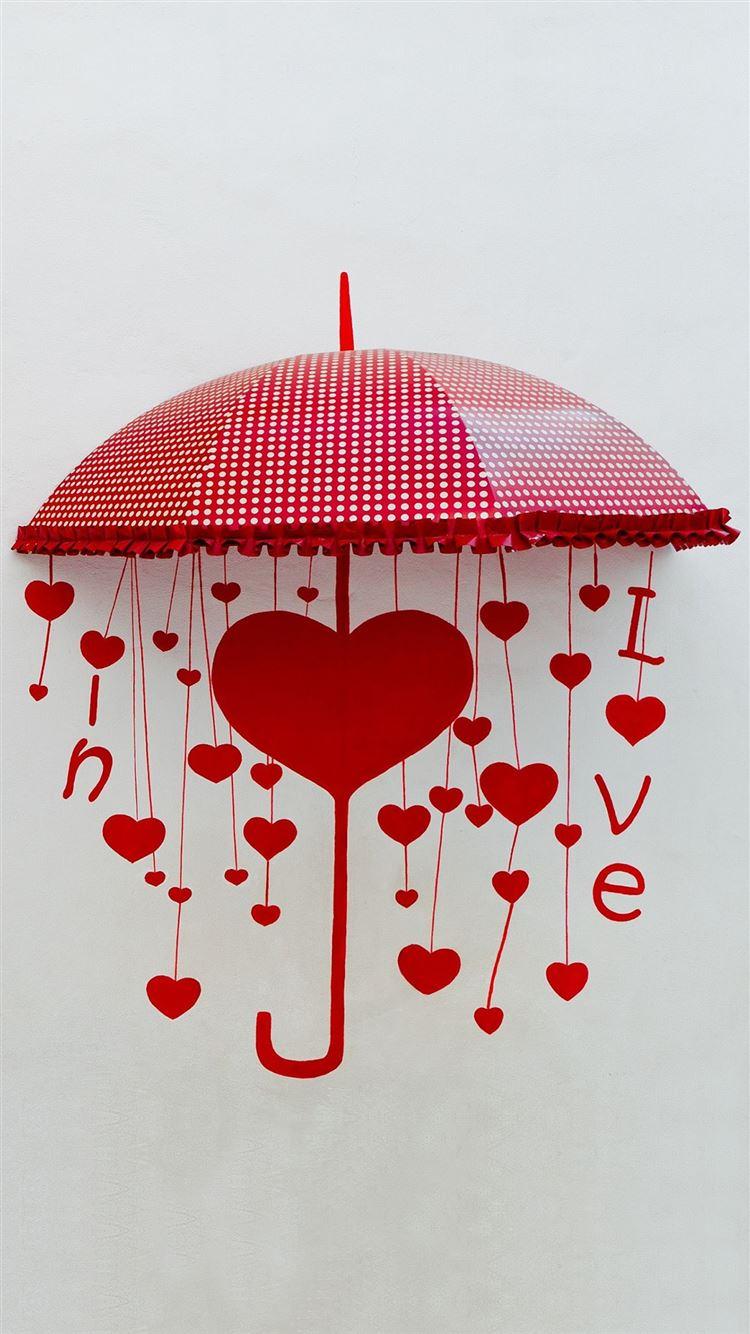 Umbrella Of Love Iphone 8 Wallpapers Free Download