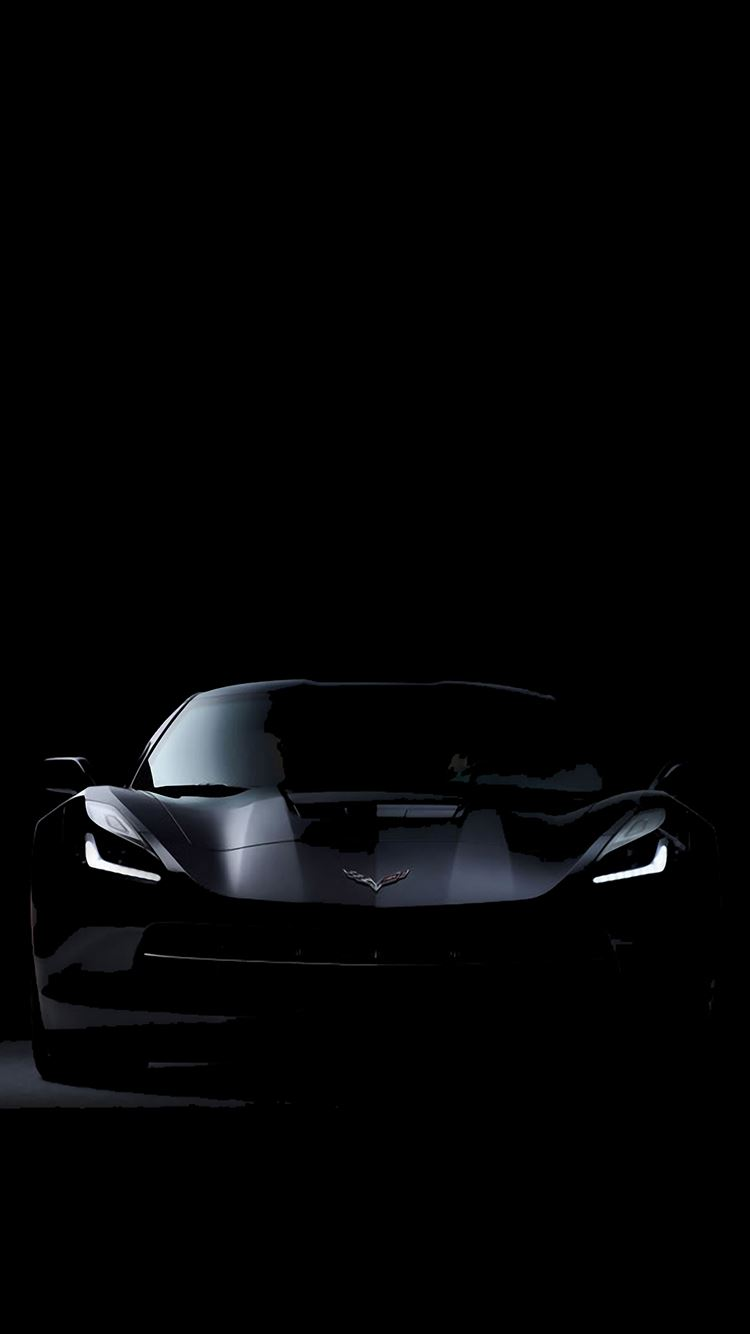 C7 Corvette Stingray Dark iPhone 8 wallpaper
