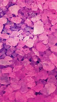 Pink Crystals Lockscreen iPhone 6(s)~8(s) wallpaper