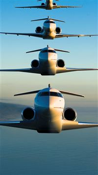 Bombardier Global Express iPhone 6(s)~8(s) wallpaper