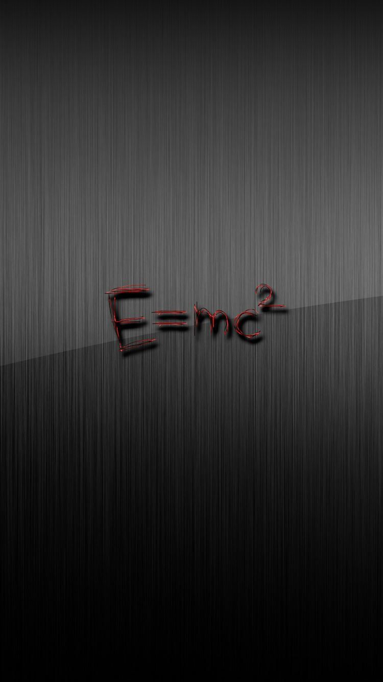 E Mc Squared Grey Iphone 8 Wallpaper Download Iphone Wallpapers