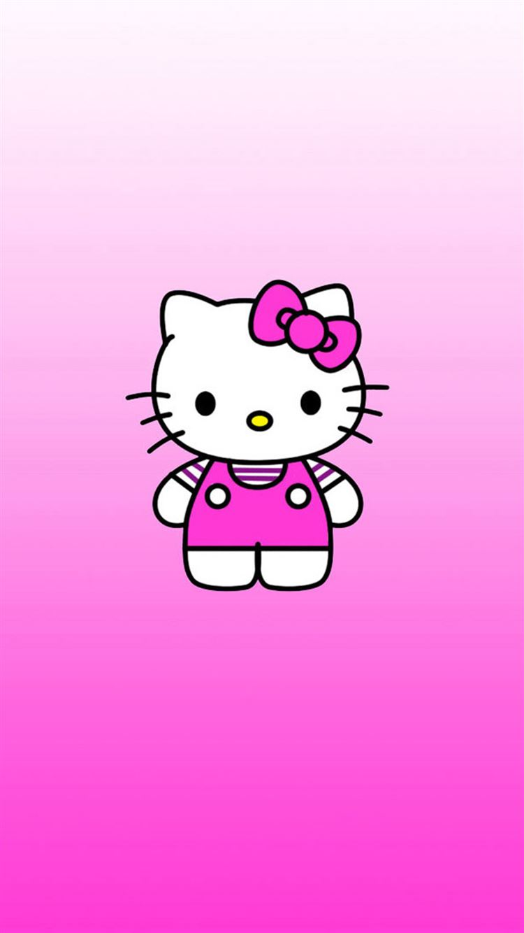 Cute Hello Kitty Iphone 8 Wallpapers Free Download