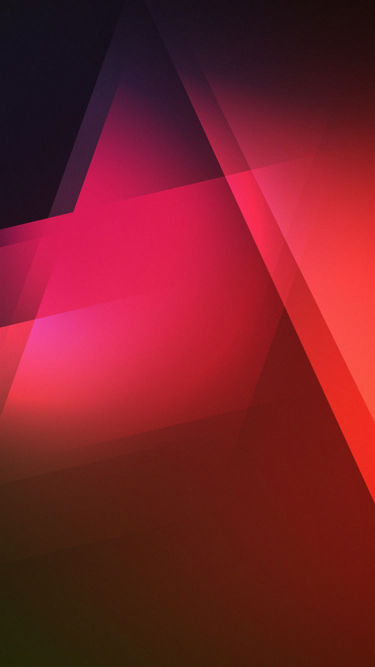Abstract Geometric Red Background iPhone 8 Wallpapers Free ...