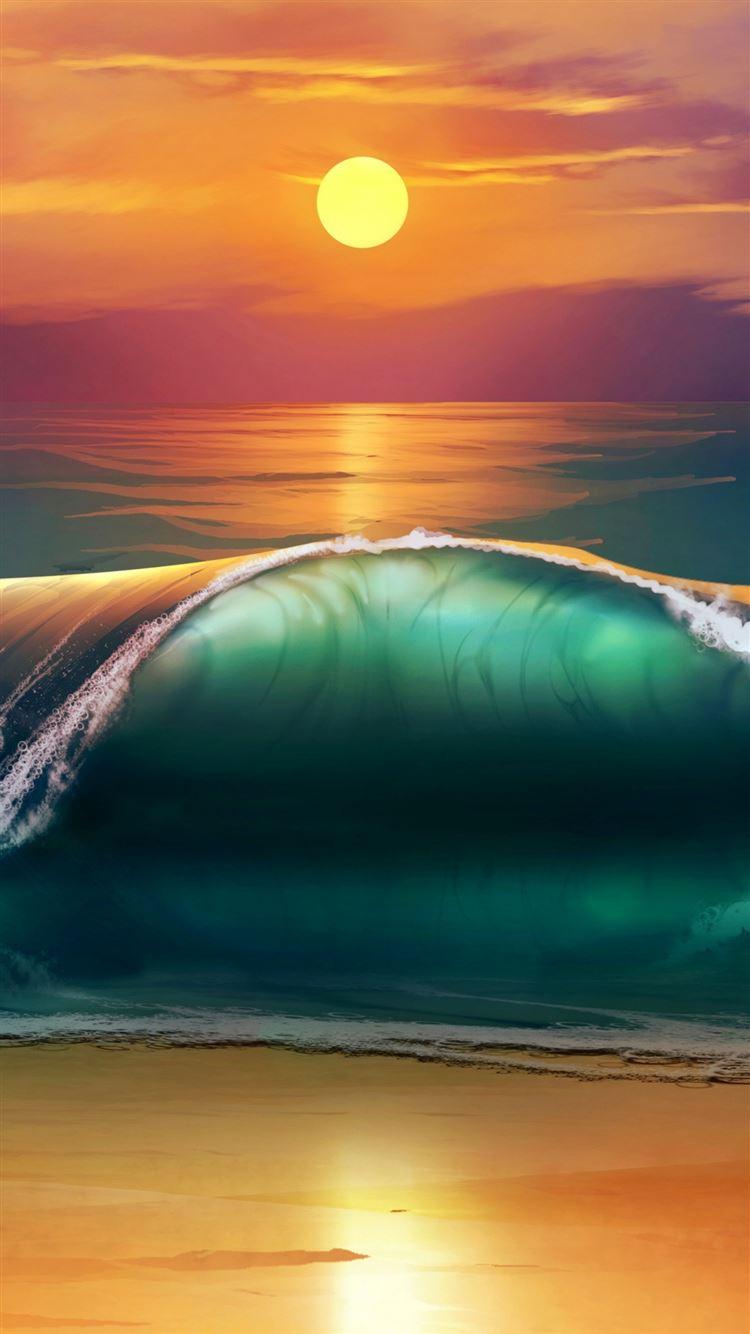Best Sunset Iphone 8 Wallpapers Hd Ilikewallpaper