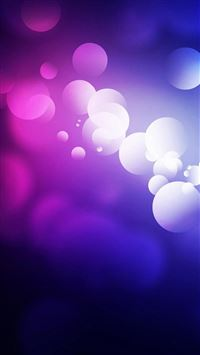 Purple Abstract Bubbles iPhone 6(s)~8(s) wallpaper