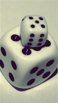 Two Dice Macro iPhone 6(s)~8(s) wallpaper