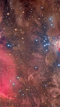Sky Space Nebula Shine iPhone 6(s)~8(s) wallpaper