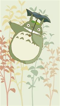 Cute My Neighbor Totoro iPhone 6(s)~8(s) wallpaper