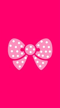 Cute Lovely Bowknot iPhone 6(s)~8(s) wallpaper