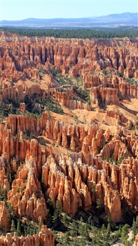 Utah Bryce Canyon Landscape Beautifully iPhone 6(s)~8(s) wallpaper