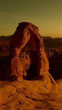 Arches National Park At Dusk  iPhone 6(s)~8(s) wallpaper