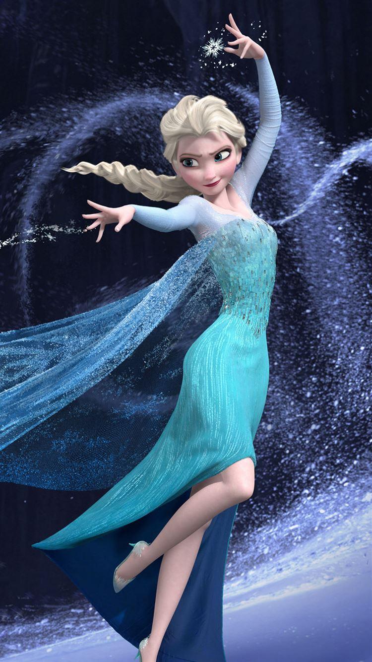 Frozen-Ice-Princess-iphone-8-wallpaper-i