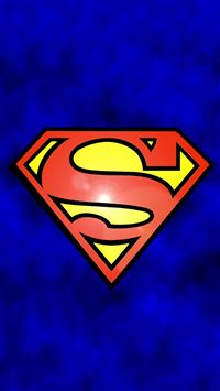 Abstract Funny Superman Logo iPhone 6(s)~8(s) wallpaper