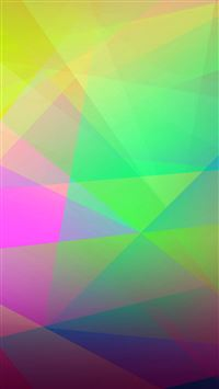 Abstract Colorful Geometry iPhone 6(s)~8(s) wallpaper