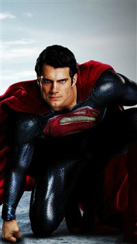 Man Of Steel Superman Henry Cavill iPhone 6(s)~8(s) wallpaper