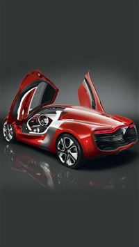 Renault DeZir Concept Car iPhone 6(s)~8(s) wallpaper