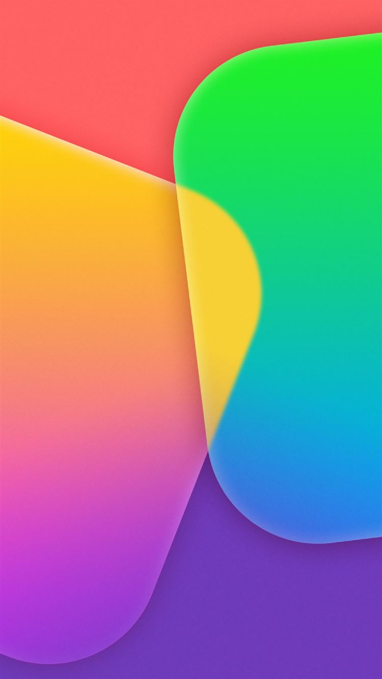 Colorful App Tiles Iphone 8 Wallpapers Free Download