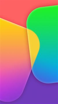 Colorful App Tiles iPhone 6(s)~8(s) wallpaper