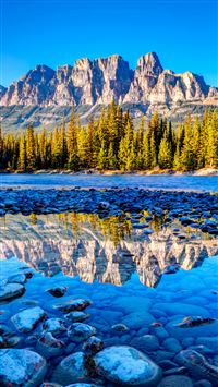 Beautiful Banff National Park iPhone 6(s)~8(s) wallpaper