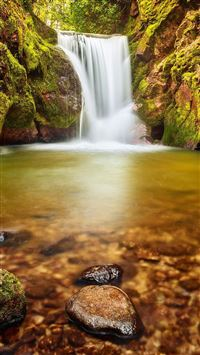 Beautiful Waterfall Landscape iPhone 6(s)~8(s) wallpaper