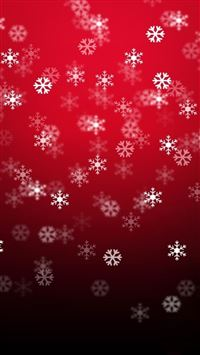 Christmas Snowflake Pattern Background iPhone 6(s)~8(s) wallpaper
