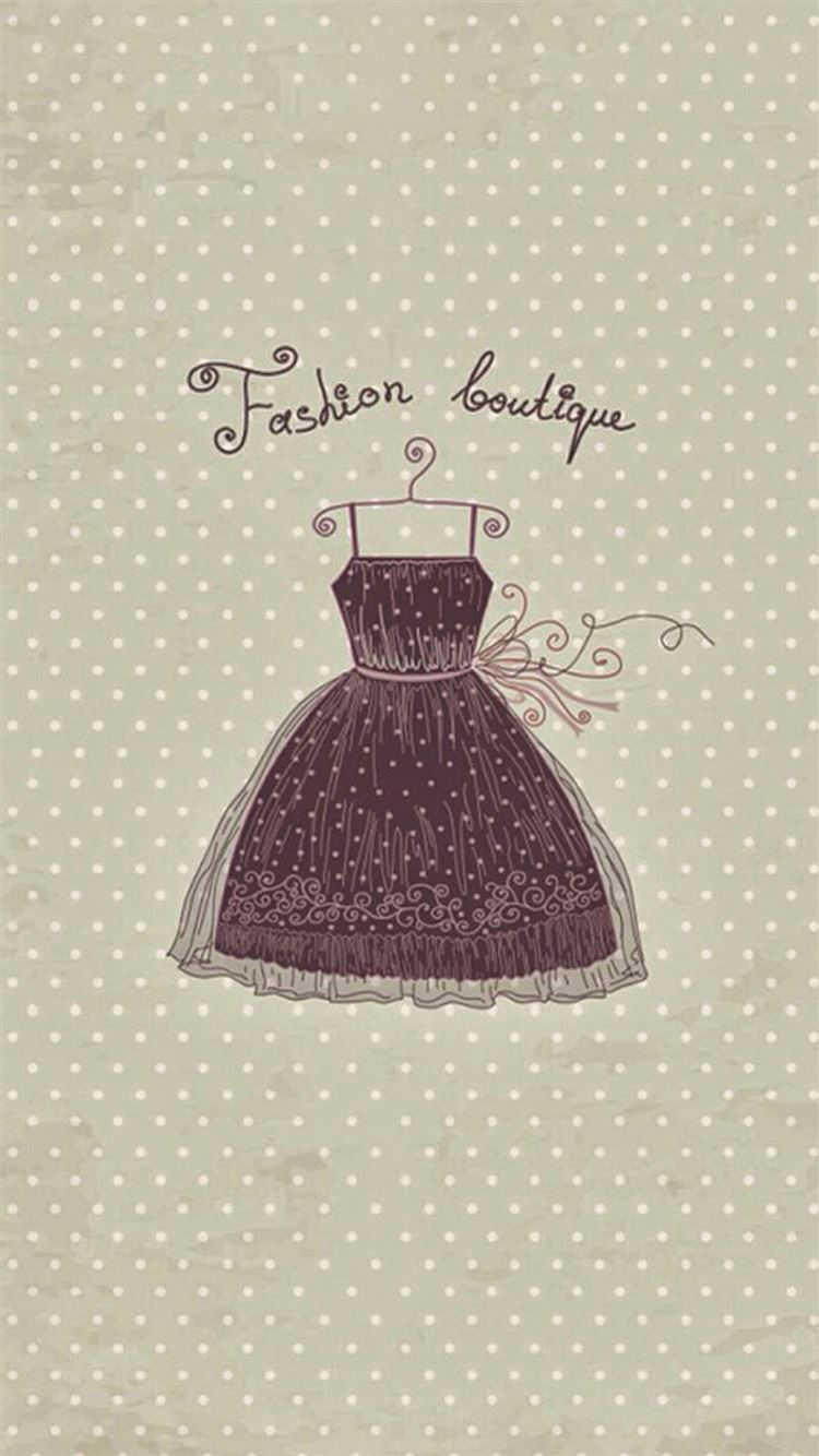 Fashion Boutique Vintage Dress Iphone 8 Wallpapers Free Download