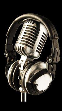 Earphone And Microphone Macro iPhone wallpaper