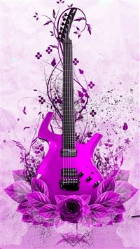 Abstract Music Guitar Instrument iPhone 6(s)~8(s) wallpaper