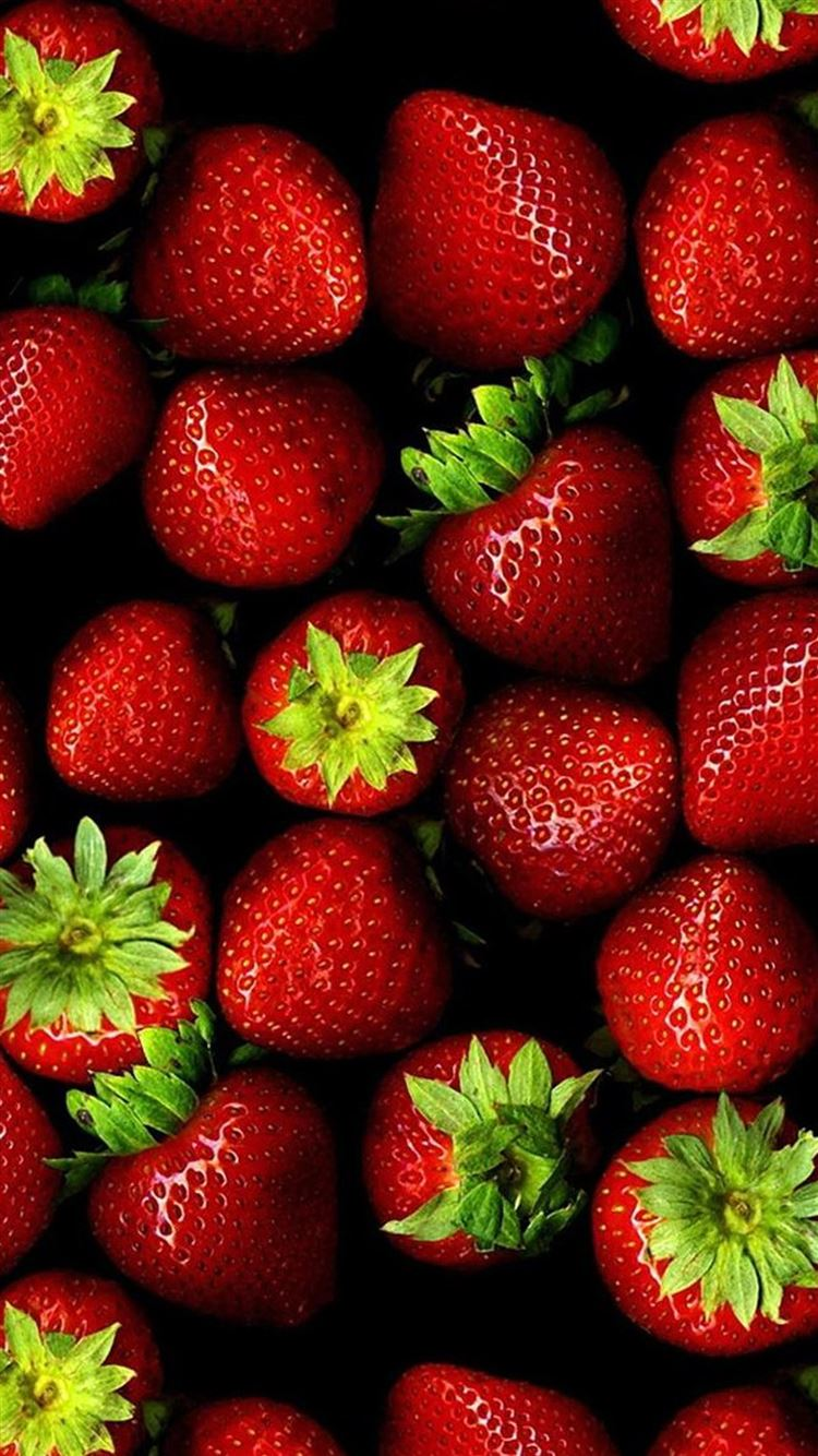 Best Strawberry Iphone 8 Wallpapers Hd 2020 Ilikewallpaper