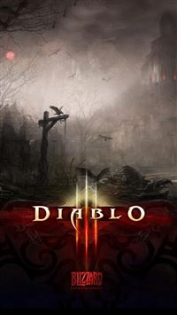 Diablo Ⅱ Poster iPhone 6(s)~8(s) wallpaper